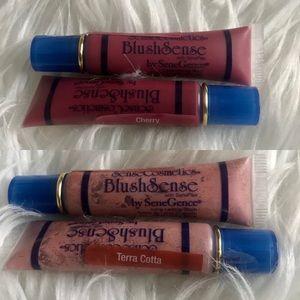 TWICE THE AMOUNT-LOW PRICE!! 4 New Senegence Blush